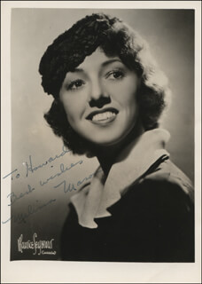 MELISSA MASON - AUTOGRAPHED INSCRIBED PHOTOGRAPH