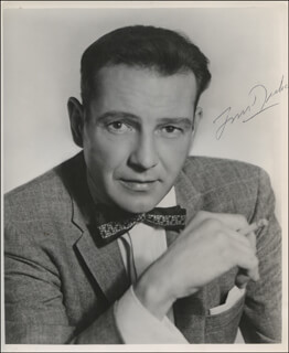 TOM DRAKE - AUTOGRAPHED SIGNED PHOTOGRAPH
