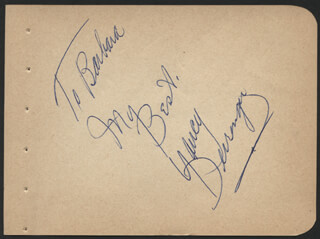 JOCK MAHONEY - AUTOGRAPH NOTE SIGNED IN CHARACTER