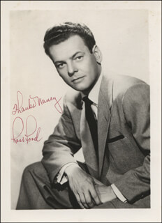 ROSS FORD - AUTOGRAPHED INSCRIBED PHOTOGRAPH