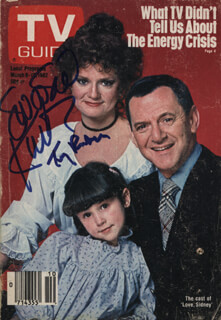LOVE, SIDNEY TV CAST - MAGAZINE SIGNED CO-SIGNED BY: TONY RANDALL, SWOOSIE KURTZ