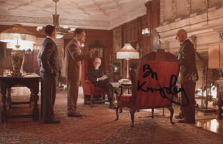 BEN KINGSLEY - AUTOGRAPHED SIGNED PHOTOGRAPH