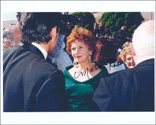 MARION ROSS - AUTOGRAPHED SIGNED PHOTOGRAPH