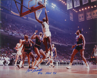 BILL RUSSELL - AUTOGRAPHED SIGNED POSTER