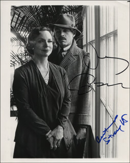 THE DAIN CURSE MOVIE CAST - AUTOGRAPHED SIGNED PHOTOGRAPH CO-SIGNED BY: BEATRICE STRAIGHT, JAMES COBURN