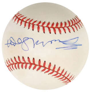 Autographs: BISHOP DESMOND TUTU - BASEBALL SIGNED