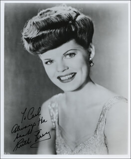 RUTH TERRY - AUTOGRAPHED INSCRIBED PHOTOGRAPH