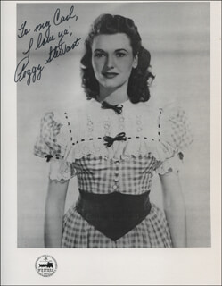 PEGGY STEWART - AUTOGRAPHED INSCRIBED PHOTOGRAPH