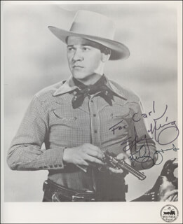 KIRBY GRANT - AUTOGRAPHED INSCRIBED PHOTOGRAPH