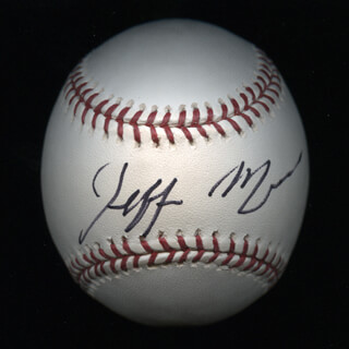Autographs: JEFF MULLINS - BASEBALL SIGNED