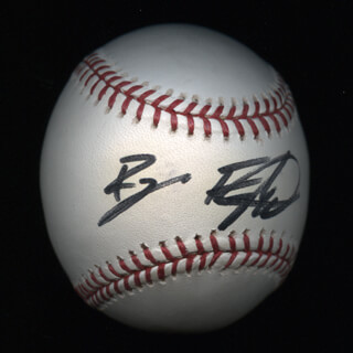Autographs: RYAN FOGELSONGER - BASEBALL SIGNED