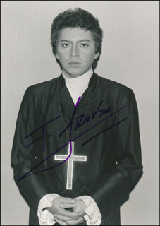 FRANCISCO ARAIZA - AUTOGRAPHED SIGNED PHOTOGRAPH