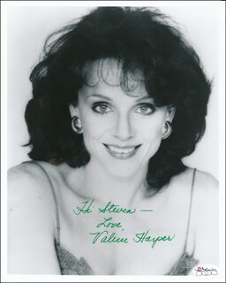VALERIE HARPER - AUTOGRAPHED INSCRIBED PHOTOGRAPH