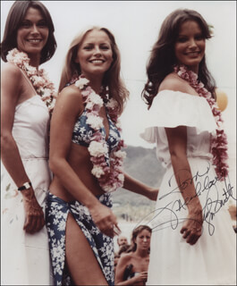 JACLYN SMITH - AUTOGRAPHED INSCRIBED PHOTOGRAPH