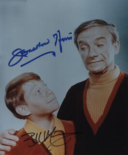 LOST IN SPACE TV CAST - AUTOGRAPHED SIGNED PHOTOGRAPH CO-SIGNED BY: BILLY MUMY, JONATHAN HARRIS