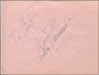 BETTY FURNESS - INSCRIBED SIGNATURE