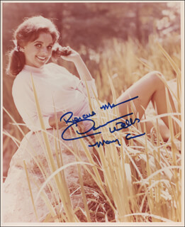 DAWN WELLS - AUTOGRAPHED SIGNED PHOTOGRAPH
