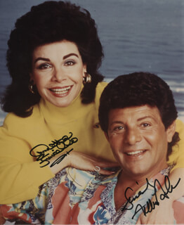 ANNETTE FUNICELLO - AUTOGRAPHED SIGNED PHOTOGRAPH CO-SIGNED BY: FRANKIE AVALON