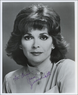 JESSICA WALTER - AUTOGRAPHED INSCRIBED PHOTOGRAPH