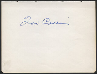 TED COLLINS - AUTOGRAPH