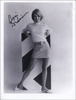 ANGIE DICKINSON - AUTOGRAPHED SIGNED PHOTOGRAPH