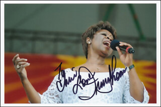 IRMA THOMAS - AUTOGRAPHED INSCRIBED PHOTOGRAPH