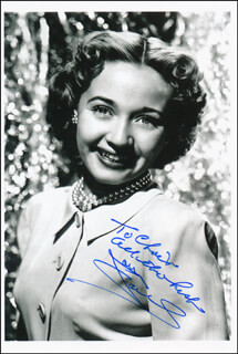 JANE POWELL - AUTOGRAPHED INSCRIBED PHOTOGRAPH