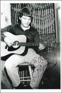 BRIAN HYLAND - AUTOGRAPHED INSCRIBED PHOTOGRAPH