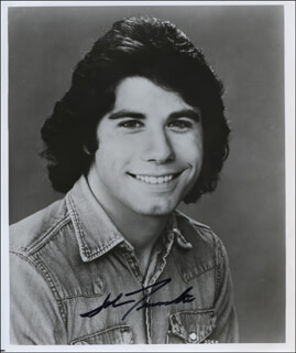 JOHN TRAVOLTA - AUTOGRAPHED SIGNED PHOTOGRAPH