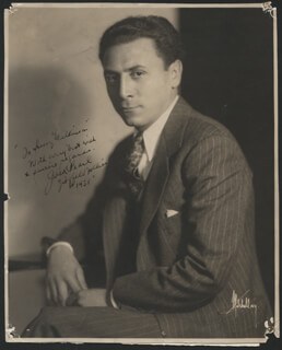 JACK PEARL - AUTOGRAPHED INSCRIBED PHOTOGRAPH 1931