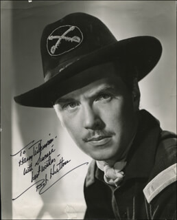 ROBERT HUTTON - AUTOGRAPHED INSCRIBED PHOTOGRAPH