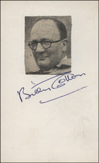 BILLY COTTON - PICTURE POST CARD SIGNED