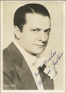 WILLIAM GAXTON - AUTOGRAPHED SIGNED PHOTOGRAPH
