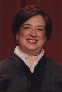 ASSOCIATE JUSTICE ELENA KAGAN - AUTOGRAPHED SIGNED PHOTOGRAPH