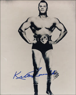Autographs: KILLER (WALTER) KOWALSKI - PHOTOGRAPH SIGNED