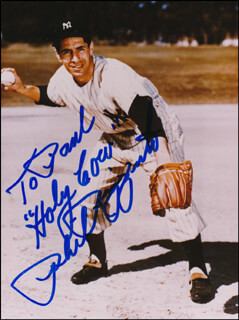 PHIL RIZZUTO - AUTOGRAPHED INSCRIBED PHOTOGRAPH