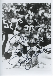 Autographs: ROBERT P. ROCKY BLEIER - INSCRIBED PHOTOGRAPH SIGNED