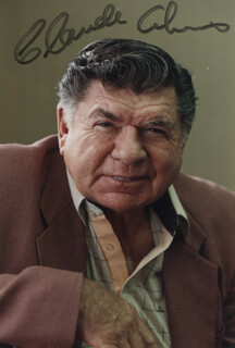 CLAUDE AKINS - AUTOGRAPHED SIGNED PHOTOGRAPH