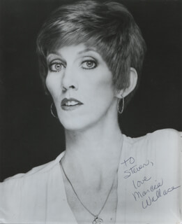 MARCIA WALLACE - AUTOGRAPHED INSCRIBED PHOTOGRAPH