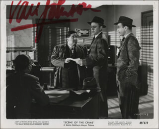 VAN JOHNSON - PRINTED PHOTOGRAPH SIGNED IN INK