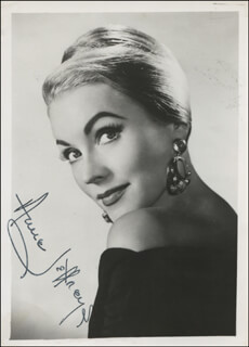 ANNE JEFFREYS - AUTOGRAPHED SIGNED PHOTOGRAPH