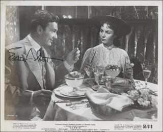 EDDIE ALBERT - PRINTED PHOTOGRAPH SIGNED IN INK