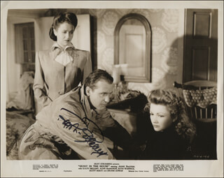 RALPH BELLAMY - AUTOGRAPHED SIGNED PHOTOGRAPH
