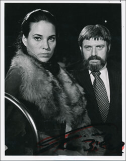 THEODORE BIKEL - AUTOGRAPHED SIGNED PHOTOGRAPH