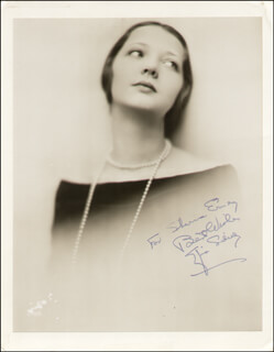 SYLVIA SIDNEY - INSCRIBED PHOTOGRAPH SIGNED TWICE