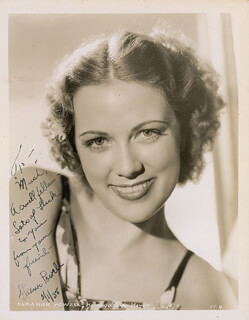 ELEANOR POWELL - AUTOGRAPHED INSCRIBED PHOTOGRAPH 02/01/1938