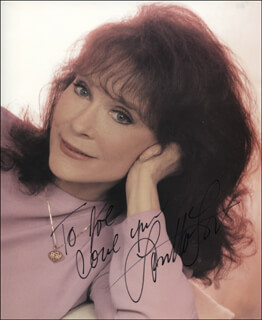 LORETTA LYNN - AUTOGRAPHED INSCRIBED PHOTOGRAPH