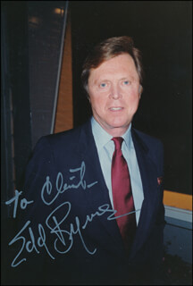 EDD KOOKIE BYRNES - AUTOGRAPHED INSCRIBED PHOTOGRAPH