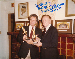 WILLIAM BAKEWELL - AUTOGRAPHED INSCRIBED PHOTOGRAPH 02/21/1991