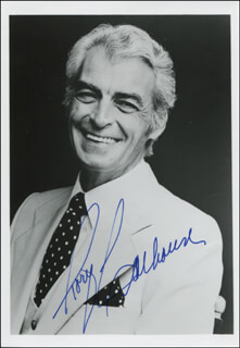 RORY CALHOUN - AUTOGRAPHED SIGNED PHOTOGRAPH